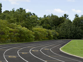 Pope John Paul Secondary School Track
